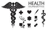 zdraví ikony