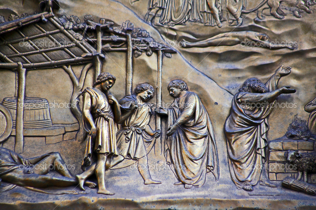 Ghiberti Paradise Baptistery Bronze Door Duomo Cathedral Florence Italy Door cast in the 1400s. \u2014 & Ghiberti Paradise Baptistery Bronze Door Duomo Cathedral Florence ... Pezcame.Com