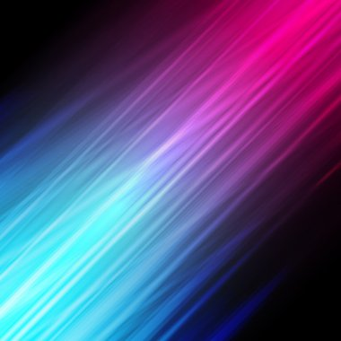 Futuristic abstract glowing background with neon light stripes