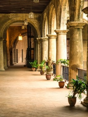 Colonial palace in Old Havana