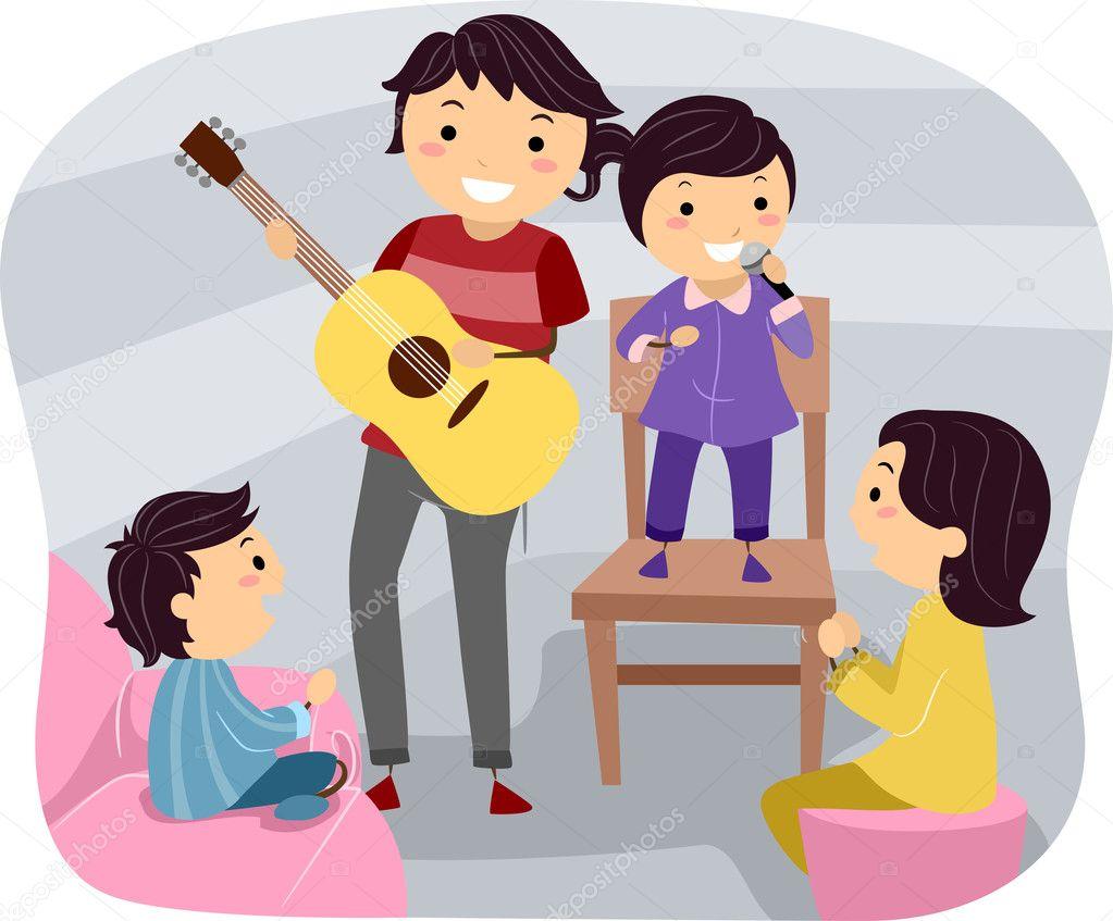 поющая семья рисунки фонда
