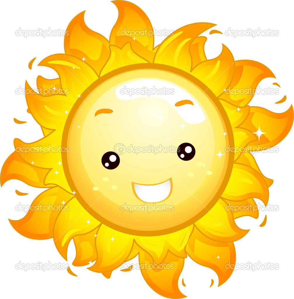 Mascote do sol stock photo lenmdp 11129321 for Figuras para el jardin