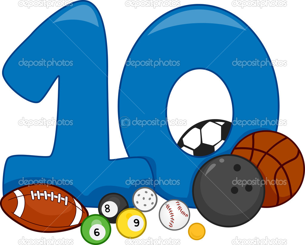 Number 10 Stock Photo by ©lenmdp 11129527