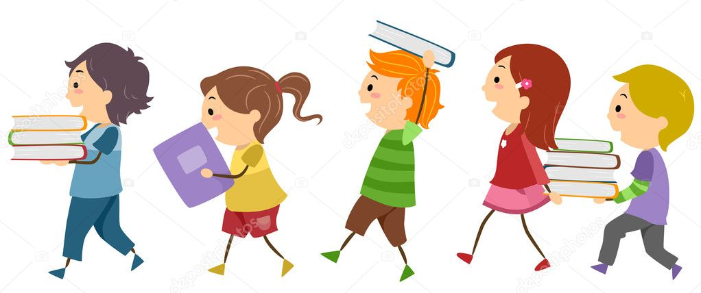 Clipart: kids book | Book Kids — Stock Photo © lenmdp #11570392