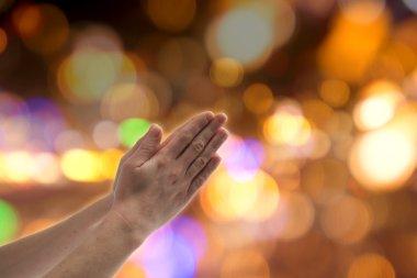 Praying gesture