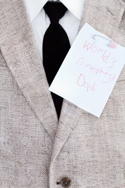 Happy Fathers Day Note