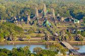 Letecký pohled na angkor Wat