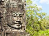 Photo Faces of Bayon temple