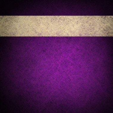 Purple background layout