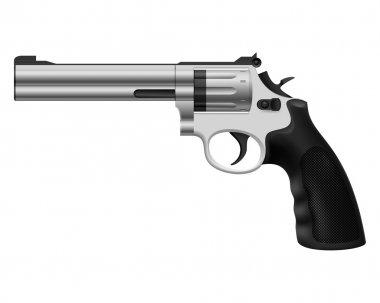 Revolver. Illustration on white background for design stock vector