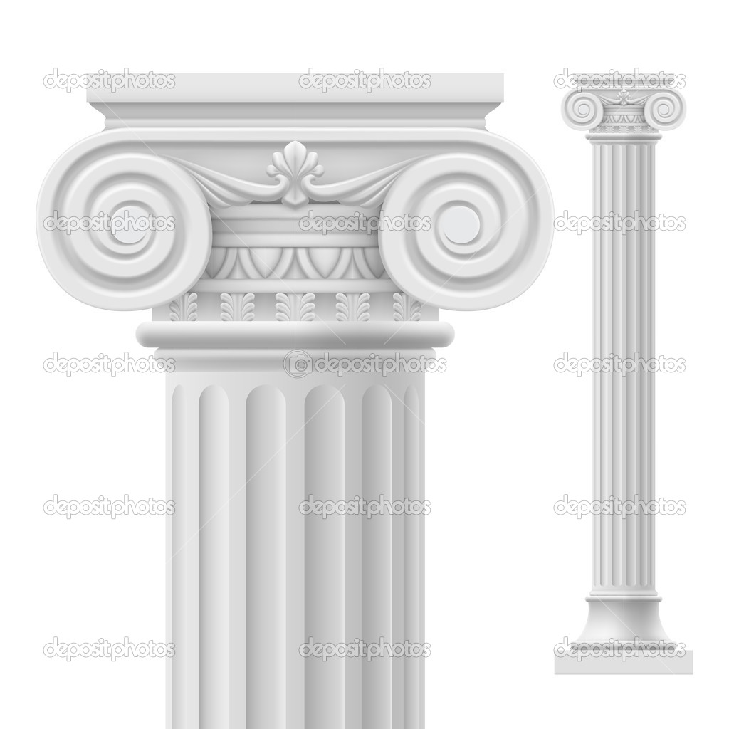 pedestal architectural models column decoration cgtrader roman model obj