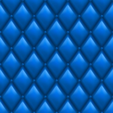 Blue Leather Background
