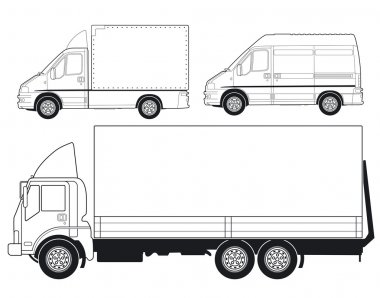 Trucks and Delivery Vans