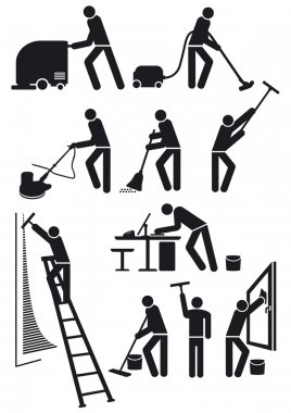 Cleaners pictogram