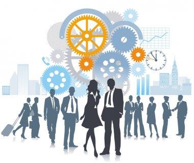 Company in development and movement