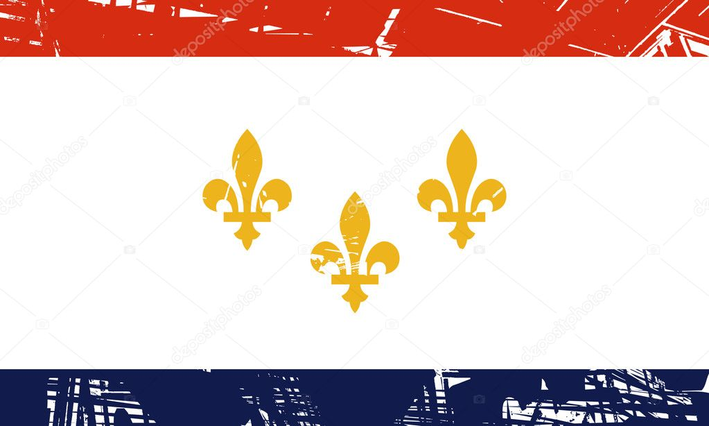Bandiera di new orleans foto stock speedfighter17 for Nuovi piani domestici di new orleans