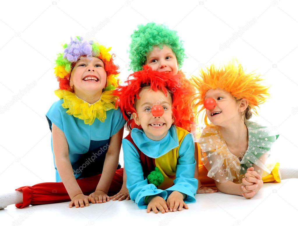 lustige clowns stockfoto katkov 11138228. Black Bedroom Furniture Sets. Home Design Ideas