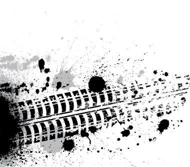 Ink blots background