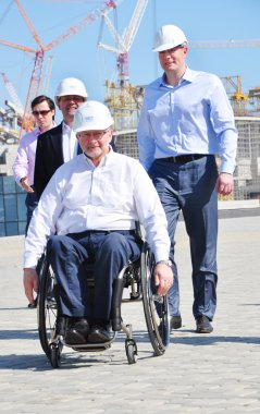 Sir Philip Craven visiting Sochi