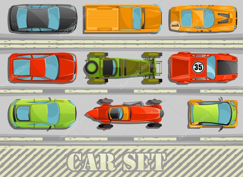 sistema de auto Vector — Archivo Imágenes Vectoriales © bubufr #11148293