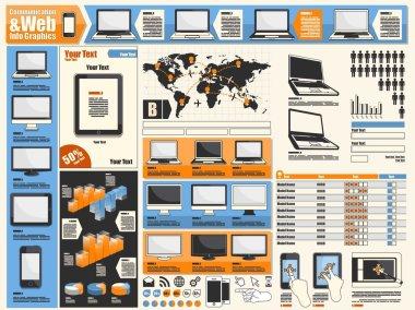 Web info graphics