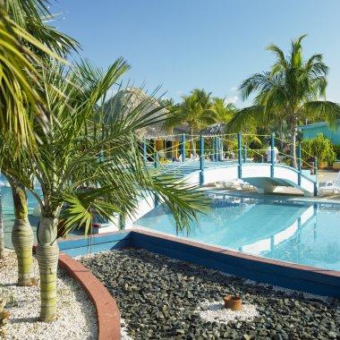 Hotel's swimming pool, Cayo Coco, Cuba