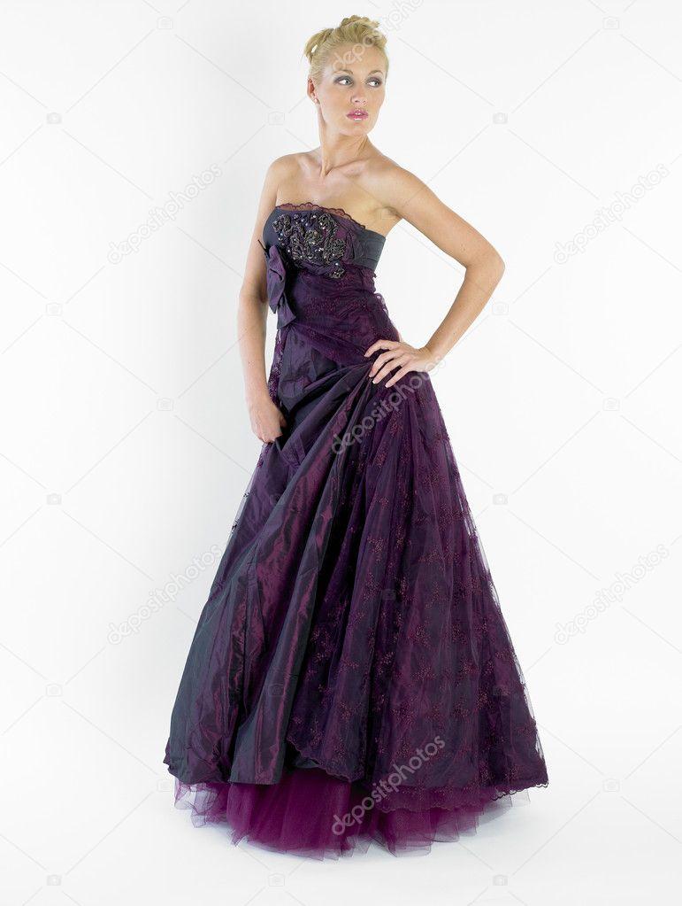 Frau trägt formelle Kleidung — Stockfoto © phb.cz #10822749