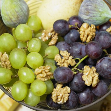Fruit with walnuts
