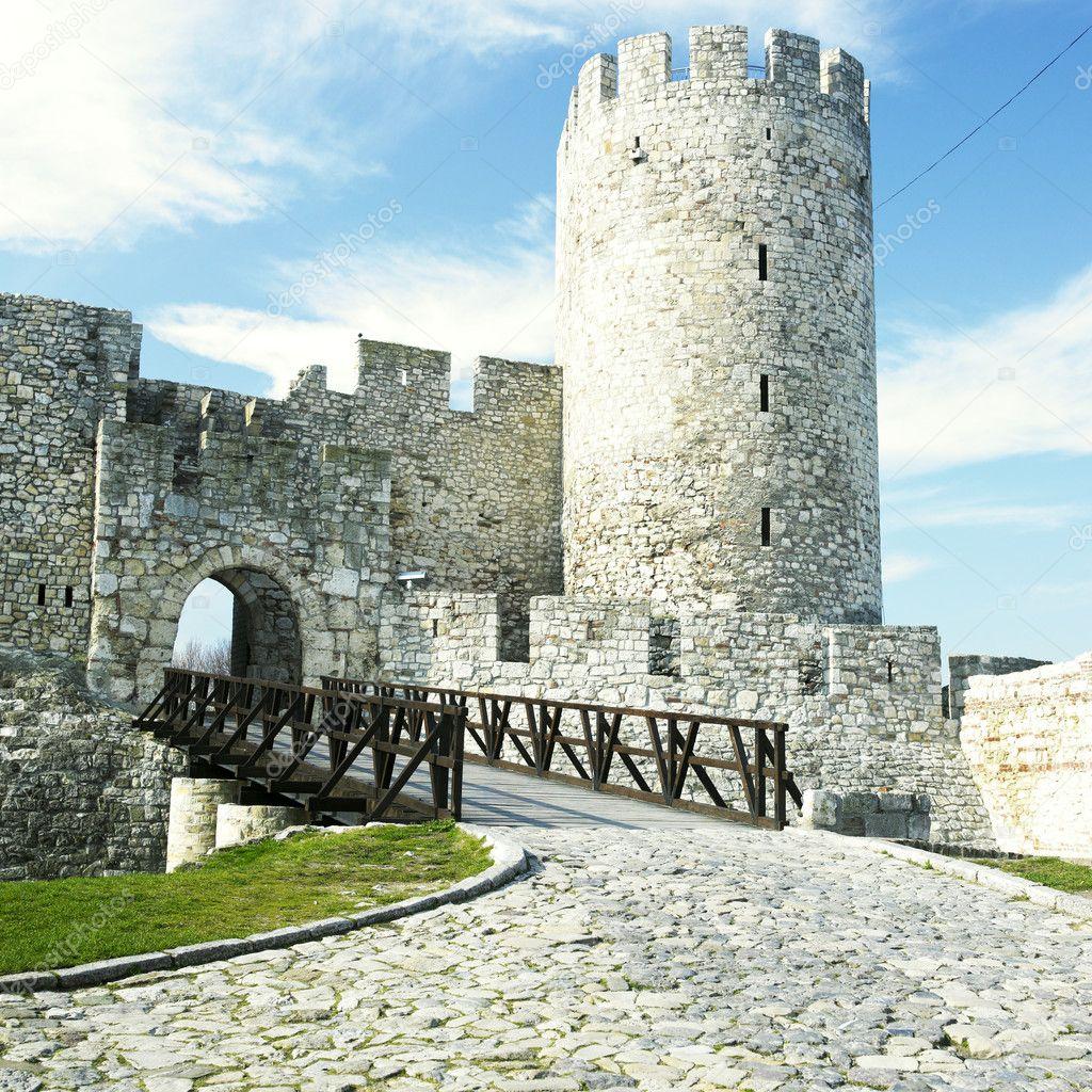 Φρούριο kalemegdan, Βελιγράδι, Σερβία — Φωτογραφία Αρχείου