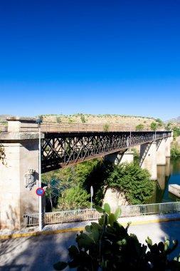 Railway viaduct near border of Portugal, Castile and Leon, Spain