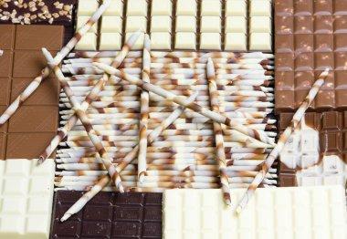 Chocolate still life