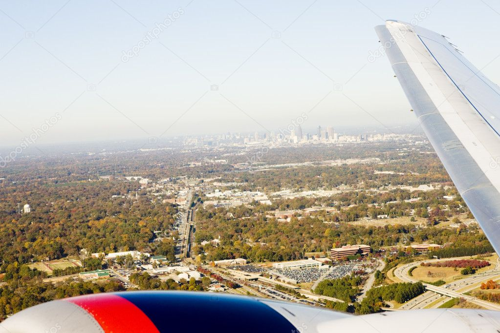View from above, Atlanta, Georgia, USA