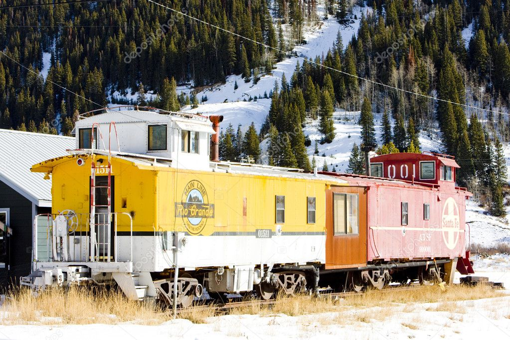 Waggons, Silverton, Colorado, USA