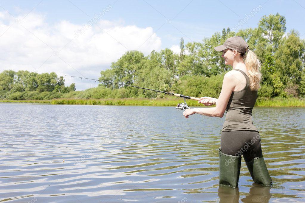 рыбалка на казенном пруду