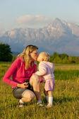 Matka se jí holčička, Krivan, Vysoke Tatry (Vysoké Tatry), S
