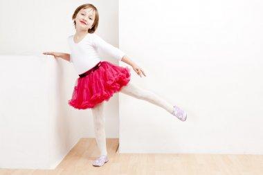 Girl as a dancer