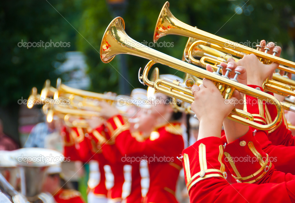 Girl Brass Band