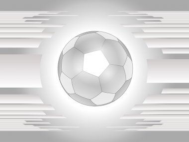 Abstract gray football background