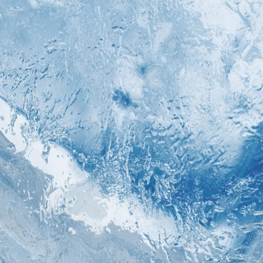Beautiful blue textured abstract background of ice stock vector