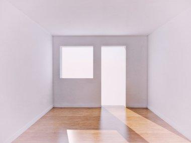 "Картина, постер, плакат, фотообои ""White Room"", артикул 10801631"