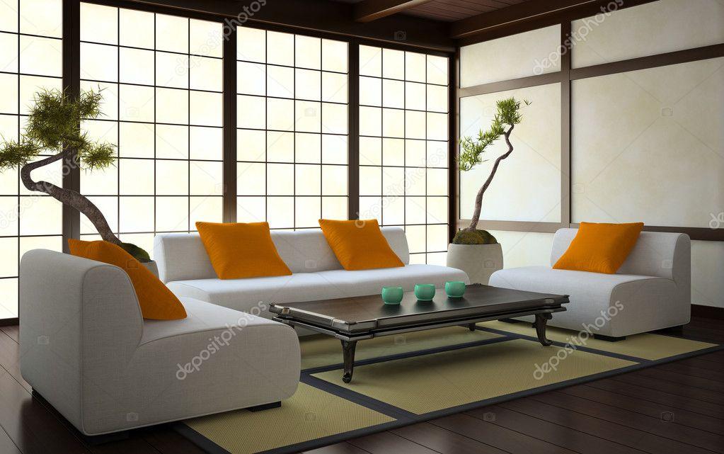 interieur in japanse stijl stockfoto hemul75 11941050