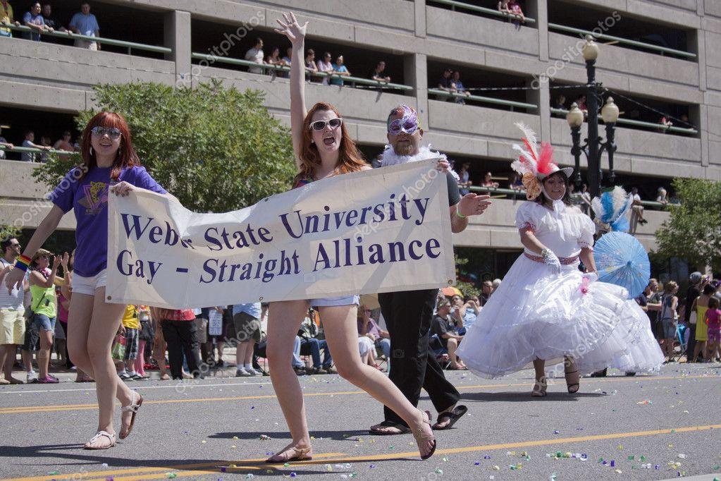 Salt Lake City Utah June 3 Weber State University Gay Str