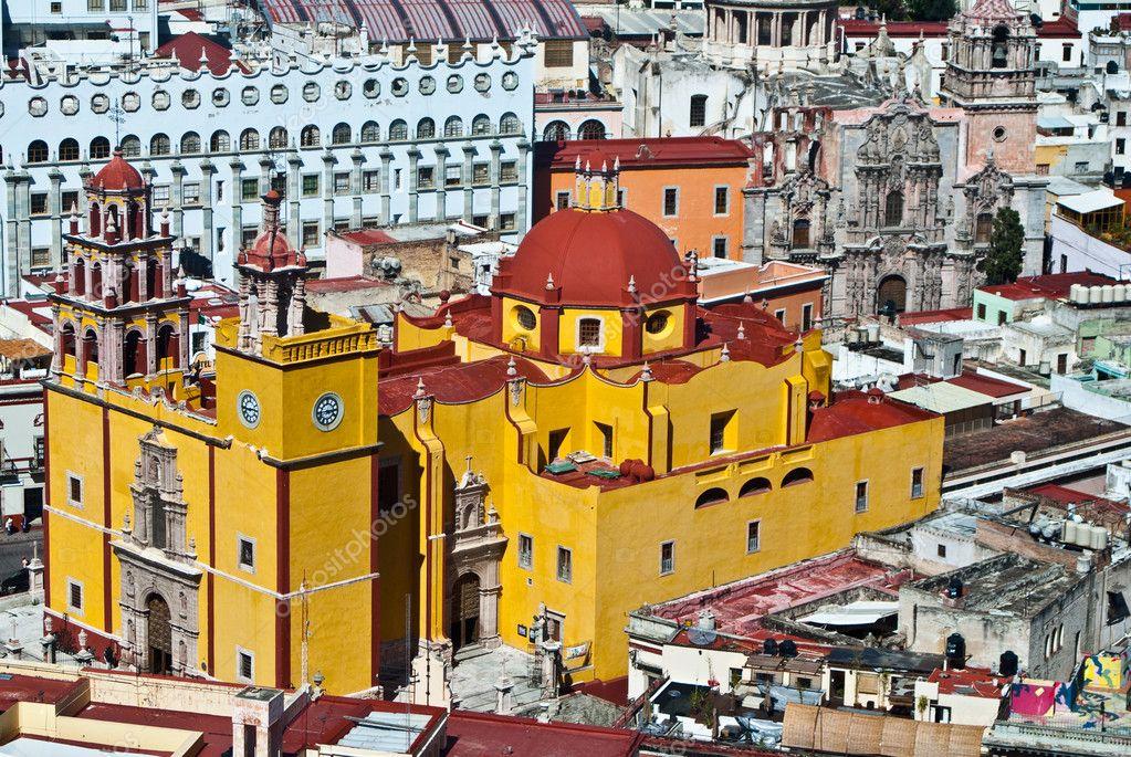 Architecture Of Colonial Guanajuato Mexico Photo By Emattil