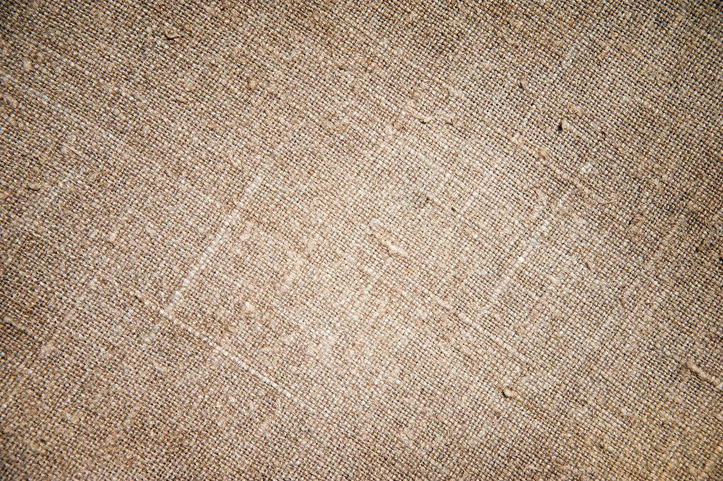 Texture of an old dirty potato sack