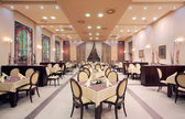 Photo Modern hotel restaurant interior