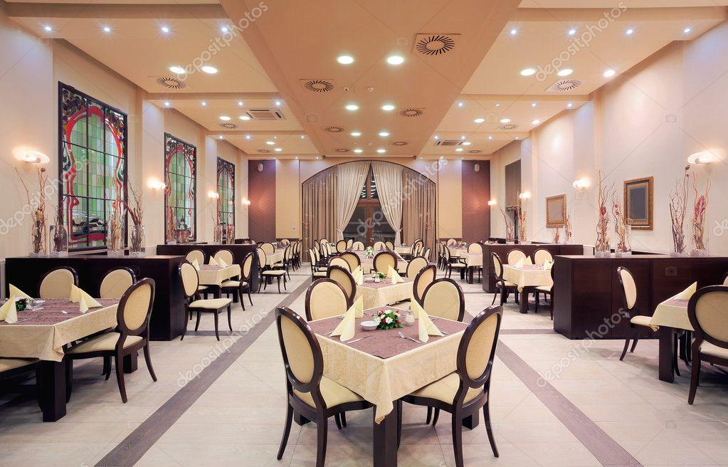 Int rieur de restaurant de l 39 h tel moderne photo 11567514 for Interieur restaurant