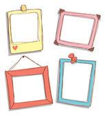 Fotografie Cute frame doodle