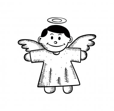 Cute angel decoration