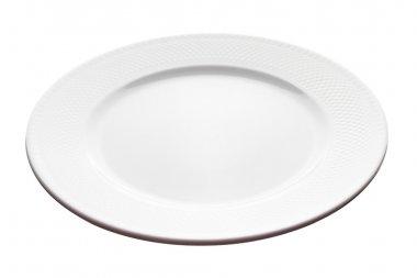 Plate - angle view