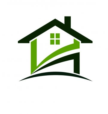 Green house swoosh